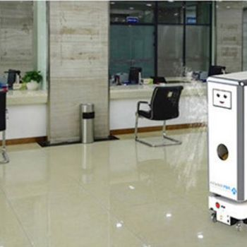 Amy-M2-D2 Spray Disinfection Robot