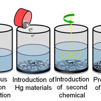 Wet Cinnabar Process